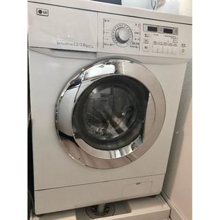 エルジーエレクトロニクス(LG Electronics)のLG  全自動洗濯・乾燥機 小型5.2㎏/2.6㎏ ′12年12月製造品(洗濯機)