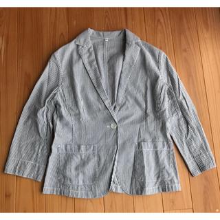 ムジルシリョウヒン(MUJI (無印良品))の無印 コットン ジャケット(テーラードジャケット)
