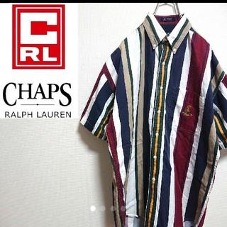 ラルフローレン(Ralph Lauren)の激レア【チャップス☆ラルフローレン】マルチストライプ BDシャツ(シャツ)