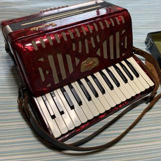 トンボ アコーディオン 18鍵盤(アコーディオン)