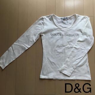 ドルチェアンドガッバーナ(DOLCE&GABBANA)のD&G ☆長袖Tシャツ  カットソー(Tシャツ(長袖/七分))