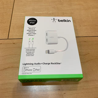 Apple - belkin lightning audio+charge rockstar