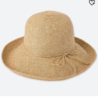 ユニクロ(UNIQLO)のユニクロ 麦わら帽子(麦わら帽子/ストローハット)