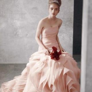 ヴェラウォン(Vera Wang)のヴェラウォン ブラッシュ US0 white by verawang(ウェディングドレス)
