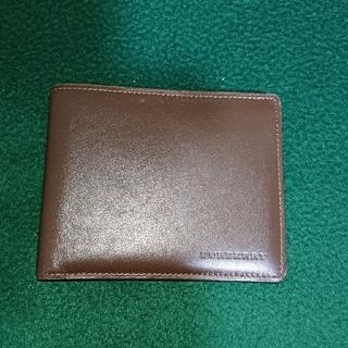 バーバリー(BURBERRY)のバーバリーの2つ折り財布 ブラウン ‼️(折り財布)