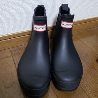 ハンター(HUNTER)のHUNTER  レインショートブーツ ブラック(UK 5)(レインブーツ/長靴)