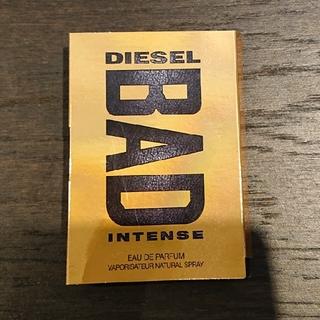 ディーゼル(DIESEL)のDIESEL フランス製 香水サンプル(香水(男性用))