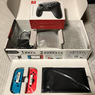 ニンテンドースイッチ(Nintendo Switch)のじゅん様専用(家庭用ゲーム機本体)