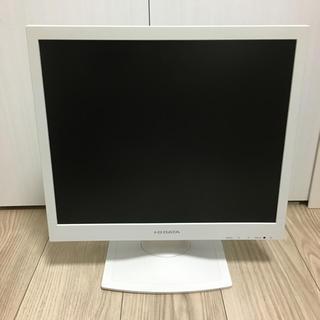 アイオーデータ(IODATA)のI-O DATA 17型 17インチ 液晶モニター 白 LCD-AD172SEW(ディスプレイ)