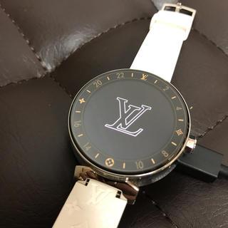 ルイヴィトン(LOUIS VUITTON)のLouis Vuitton タンブール ホライゾン QA003Z(腕時計(デジタル))