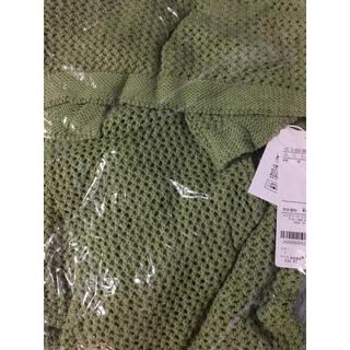 アンレリッシュ(UNRELISH)の新品♡定価5292円 メッシュニット グリーン 大幅お値下げ‼️ラスト一点❣️(その他)