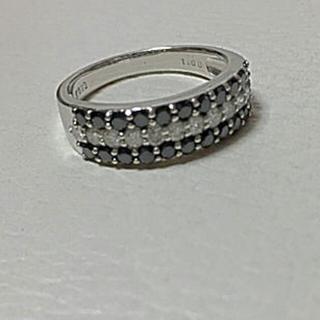 豪華 k18 K18WG レディース リング ダイヤモンド 1.00 鑑別書付き(リング(指輪))