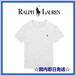 ラルフローレン(Ralph Lauren)の即発★ Ralph Lauren ラルフローレン Tシャツ Vネック(Tシャツ/カットソー(半袖/袖なし))