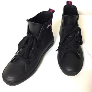 シマムラ(しまむら)のレインシューズ♡ブラック(レインブーツ/長靴)