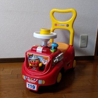 アンパンマン(アンパンマン)のアンパンマン じゃかじゃか消防車(手押し車/カタカタ)