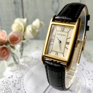 サンローラン(Saint Laurent)の【希少】Yves Saint Laurent サンローラン 腕時計 スクエア(腕時計(アナログ))