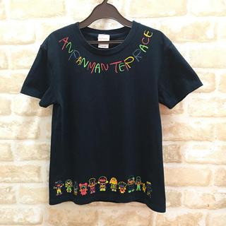 アンパンマン(アンパンマン)の[アンパンマンテラス] Tシャツ (黒)(Tシャツ(半袖/袖なし))