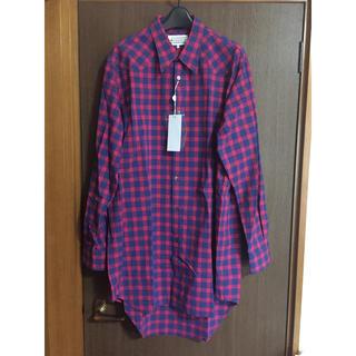 マルタンマルジェラ(Maison Martin Margiela)の38新品61%off オーバーサイズ ルーズチェック シャツ(シャツ)