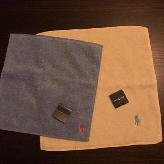 ラルフローレン(Ralph Lauren)のラルフローレン ハンカチタオル2枚セット(タオル/バス用品)