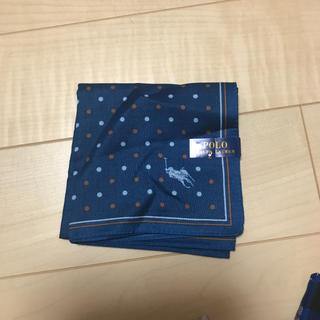 ラルフローレン(Ralph Lauren)のラルフローレン ハンカチ 新品(ハンカチ/ポケットチーフ)