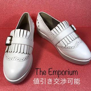 ジエンポリアム(THE EMPORIUM)の【THE EMPORIUM】ザ エンポリアム レディースシューズ 22~22.5(ローファー/革靴)