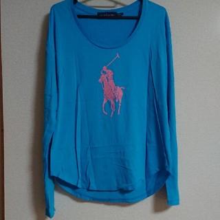 ラルフローレン(Ralph Lauren)のラルフローレン ピンクポニー ロングTシャツ(Tシャツ(長袖/七分))