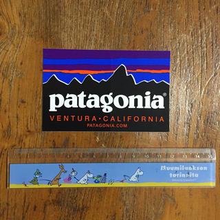 パタゴニア(patagonia)のパタゴニア ステッカー ロゴ3(登山用品)