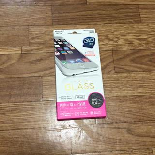 アップル(Apple)のiPhone6 plus 保護ガラスフィルム 新品(保護フィルム)