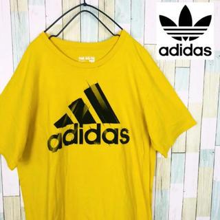 アディダス(adidas)のadidas アディダス Tシャツ パフォーマンスロゴ デカロゴ  古着 90s(Tシャツ/カットソー(半袖/袖なし))