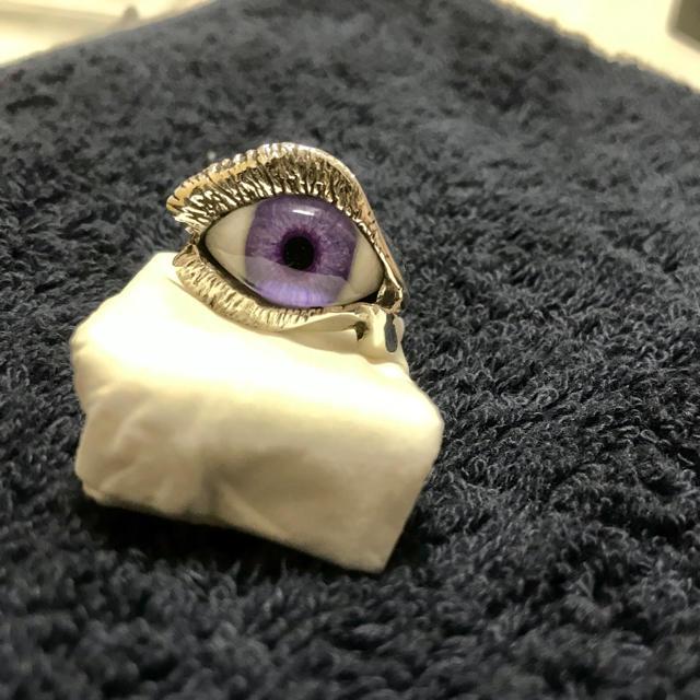 CRAZY PIG(クレイジーピッグ)の⭐️ レア グレートフロッグ 義眼リング ⭐️ メンズのアクセサリー(リング(指輪))の商品写真
