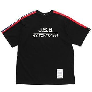 サンダイメジェイソウルブラザーズ(三代目 J Soul Brothers)のJSBブランド  黒M(Tシャツ/カットソー(半袖/袖なし))