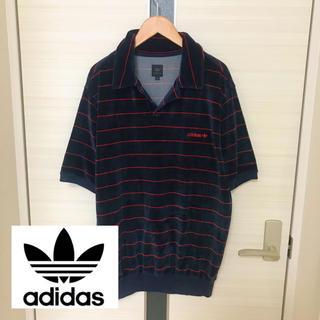 アディダス(adidas)のvintage 90s★ adidas アディダス ポロシャツ (ポロシャツ)