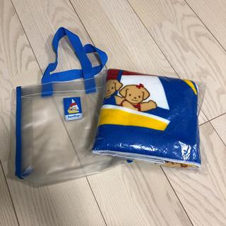 ファミリア(familiar)の【トラちゃん様専用】familiar バスタオル プールバッグセット(タオル/バス用品)