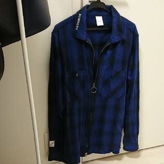 ロンハーマン(Ron Herman)のロンハーマン チェックシャツ ジャケット NUMBERS(シャツ)