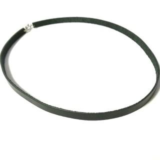 ハレ(HARE)のチョーカー 本革 ブラック 首輪(ネックレス)