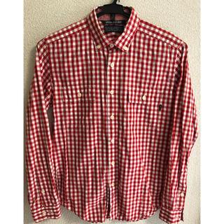 DELUXE - DELUXE clothing デラックス チェックシャツ 長袖 日本製