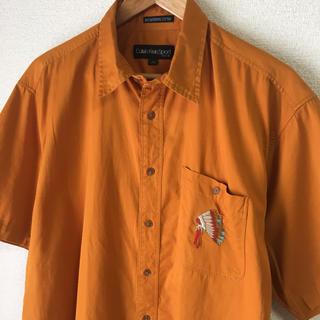 カルバンクライン(Calvin Klein)のCalvin Klein Sport カルバンクラインスポーツ 刺繍 シャツ(シャツ)