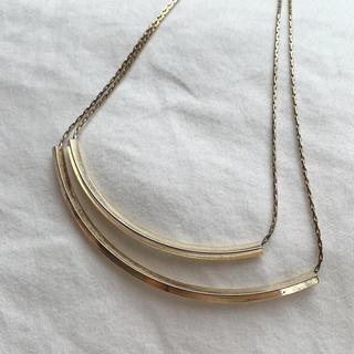 ゴールド素材  ネックレス