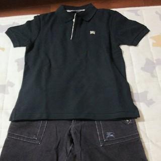 バーバリー(BURBERRY)のBURBERRY❇️130  セット売り  ポロシャツ&ハーフパンツ(その他)
