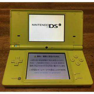 ニンテンドーDS(ニンテンドーDS)のニンテンドーDSi ネオンイエロー(携帯用ゲーム機本体)