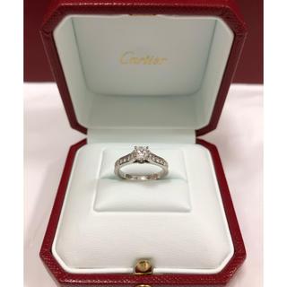 カルティエ(Cartier)の【新品未使用】カルティエ 1895 ソリテール プラチナ0.34carat(リング(指輪))