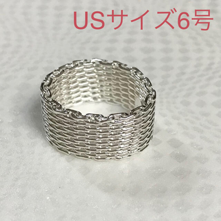 シルバー925 リングⅡ6号(リング(指輪))