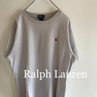 ラルフローレン(Ralph Lauren)のラルフローレン tシャツ 半袖 刺繍ロゴ 古着(Tシャツ/カットソー(半袖/袖なし))