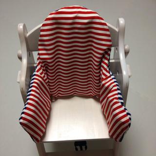イケア(IKEA)の子供椅子用サポートクッションとカバー(その他)