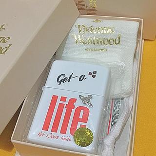 ヴィヴィアンウエストウッド(Vivienne Westwood)の ZIPPO VIVIENNE WESTWOOD WHITE 立体オーブ 未使用(タバコグッズ)