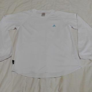 アディダス(adidas)のアディダス 長袖 ロングTシャツ Lサイズ(Tシャツ(長袖/七分))