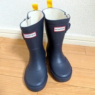 HUNTER - HUNTER ハンター キッズレインブーツ 長靴 UK7/14.5センチ