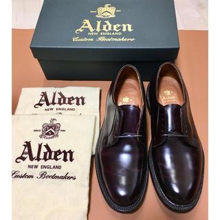 Alden - 【試着のみ】Alden オールデン 990 ダークバーガンディコードバン9D