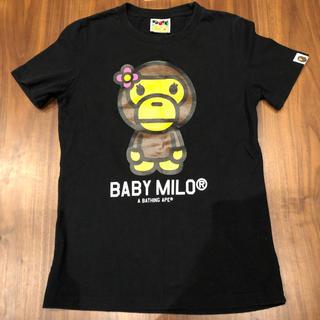アベイシングエイプ(A BATHING APE)のベビーマイロ Tシャツ (Tシャツ(半袖/袖なし))