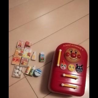 アンパンマン(アンパンマン)のアンパンマン レア 冷蔵庫 家電 おもちゃ セット おままごと(その他)